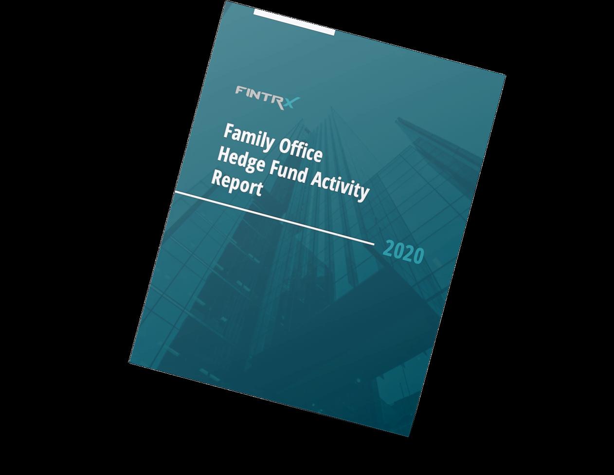 FINTRX 2020 Hedge Fund Activity Report