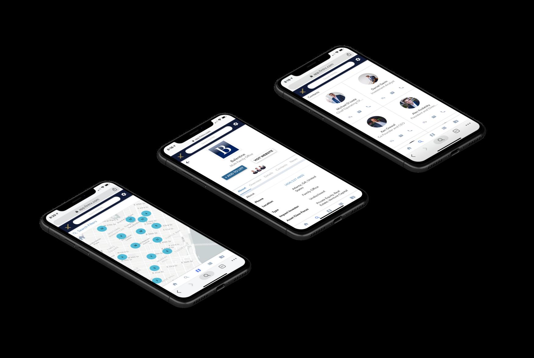 FINTRX Mobile Mockup 1