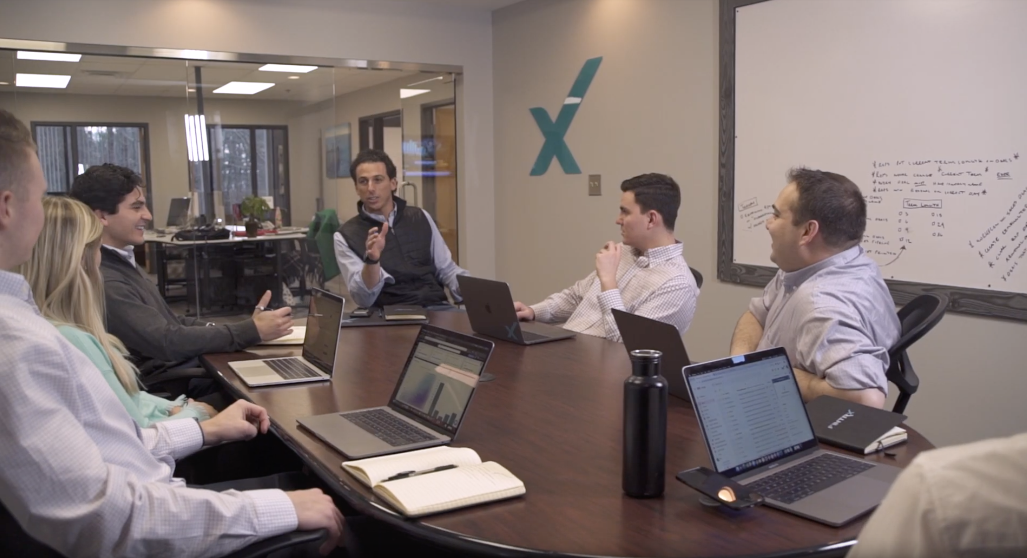 FINTRX team in conference room