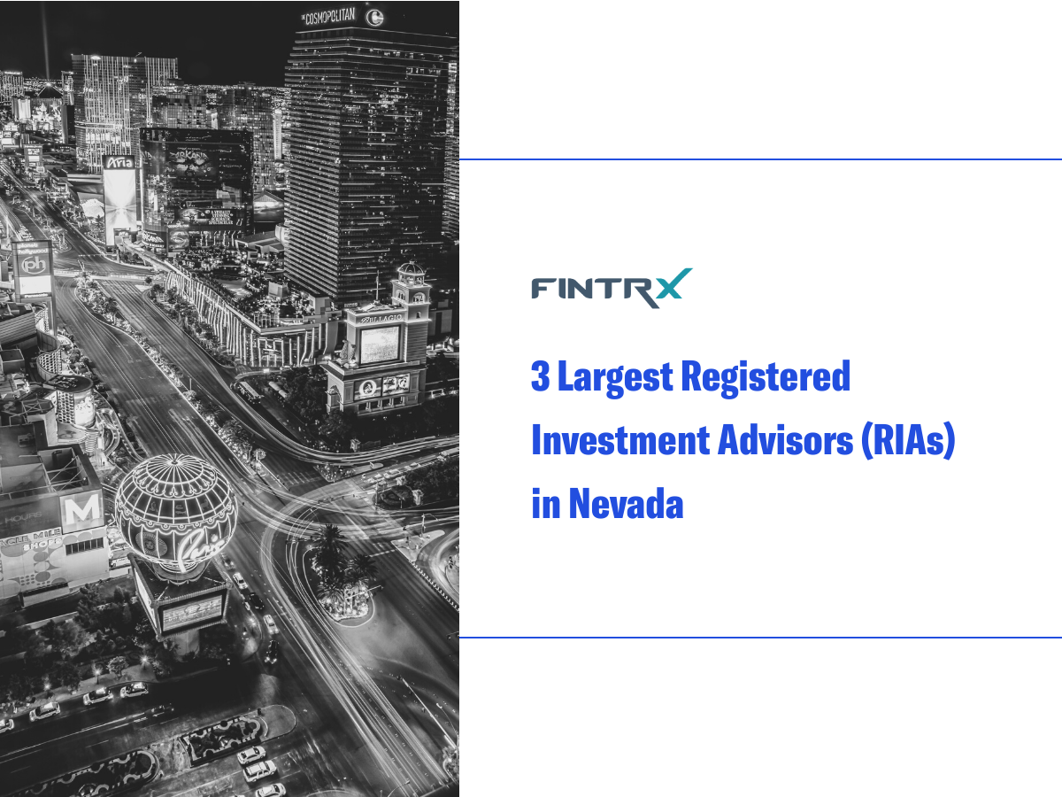 3 Largest Registered Investment Advisors (RIAs) in Nevada