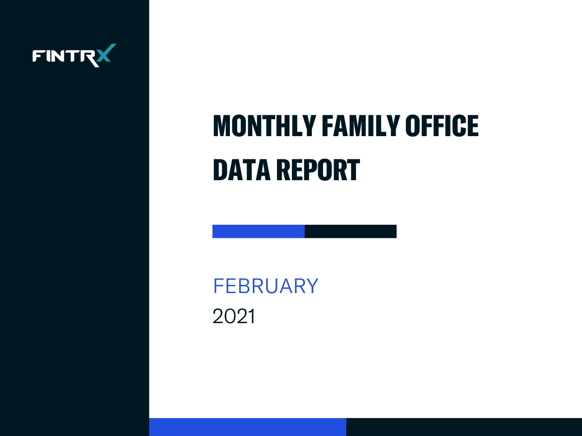 FINTRX Monthly Family Office Data Report